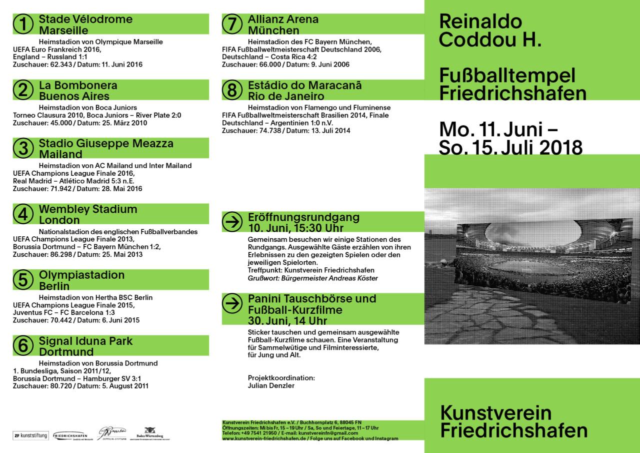 > Kunstverein Friedrichshafen Reinaldo Coddou H.